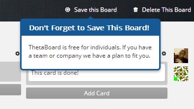Save Board